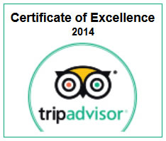 Excellence Award 2014 for The Holiday Resorts, Cottages & Spa Manali - Rated as One of the Best hotels in manali