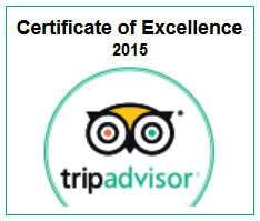 Excellence Award 2015 for The Holiday Resorts, Cottages & Spa Manali - Rated as One of the Best hotels in manali